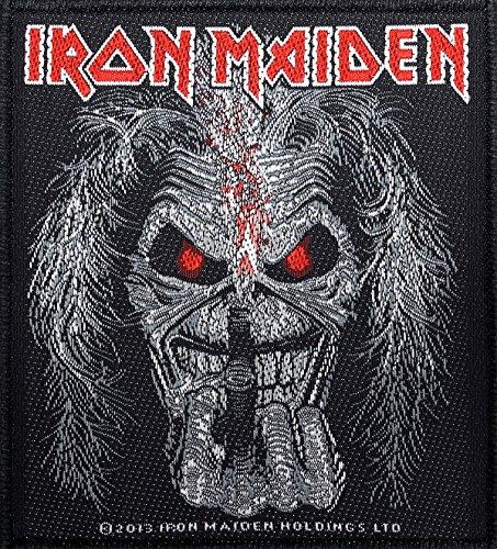 Razamataz Iron Maiden Parche Eddie Candle Dedos Patch Tejida 9,5x 10