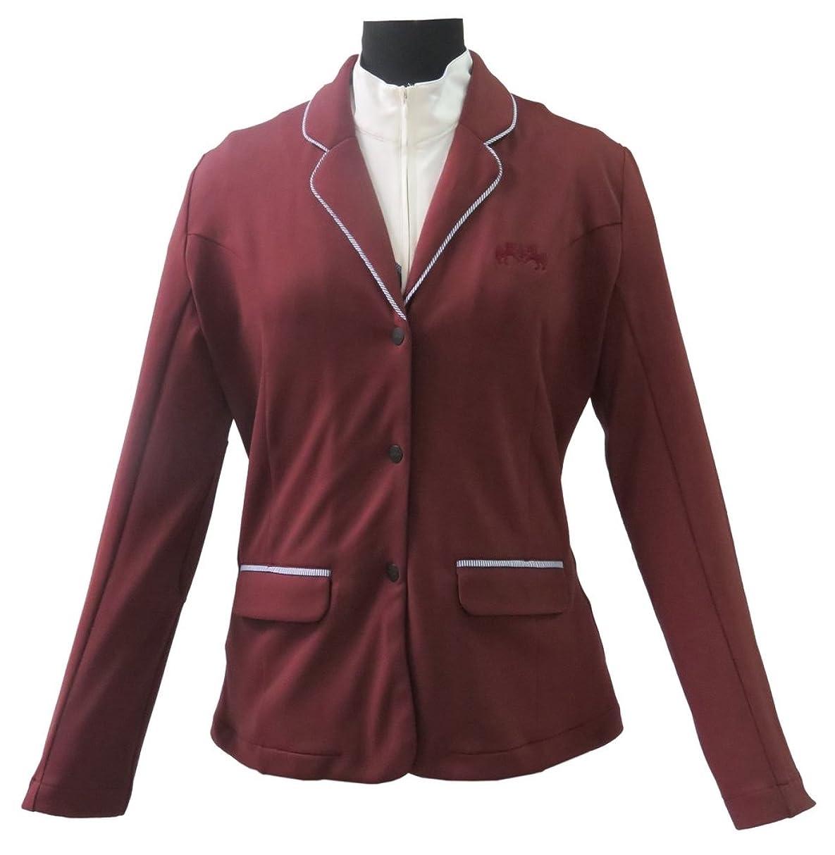 火山学者無人蒸発するEquine Couture Ladies Danvers Showコート