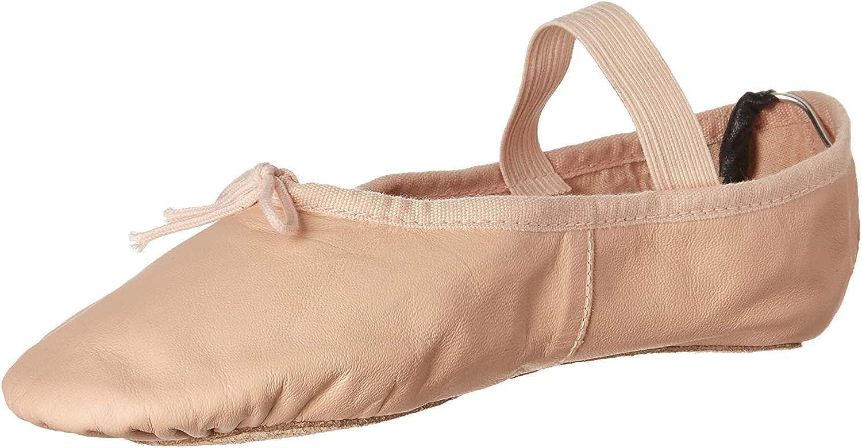 Leo Women's Russe Dance Shoe, Ballet Pink, 8 C US
