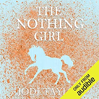 The Nothing Girl audiobook cover art