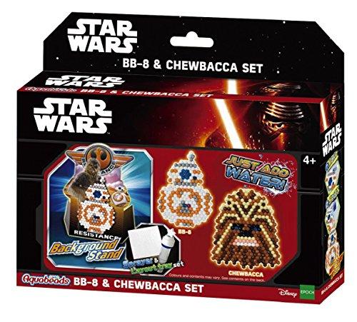 Aquabeads Juego Star Wars BB-8 y Chewbacca 30148