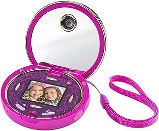 VTech - Kidizoom Pixi, doble cámara compacta de bolsillo para hacer fotos, selfis y vídeos, tapa abatible, juegos, filtros...
