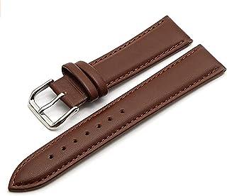 DRSFF 12 – 22 mm, elegante correa de reloj de pulsera de piel auténtica, pulsera para mujer con herramientas de instalación