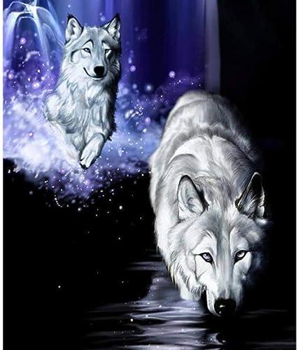 Precio por piso XIGZI 5D Wolf Diamond Pintura Punto de de de Cruz Bordado decoración del hogar sin Marco  ¡no ser extrañado!