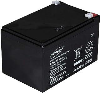 Powery Batería de GEL para Peg Perego SAI 12V 12Ah (sustituye a 14Ah)