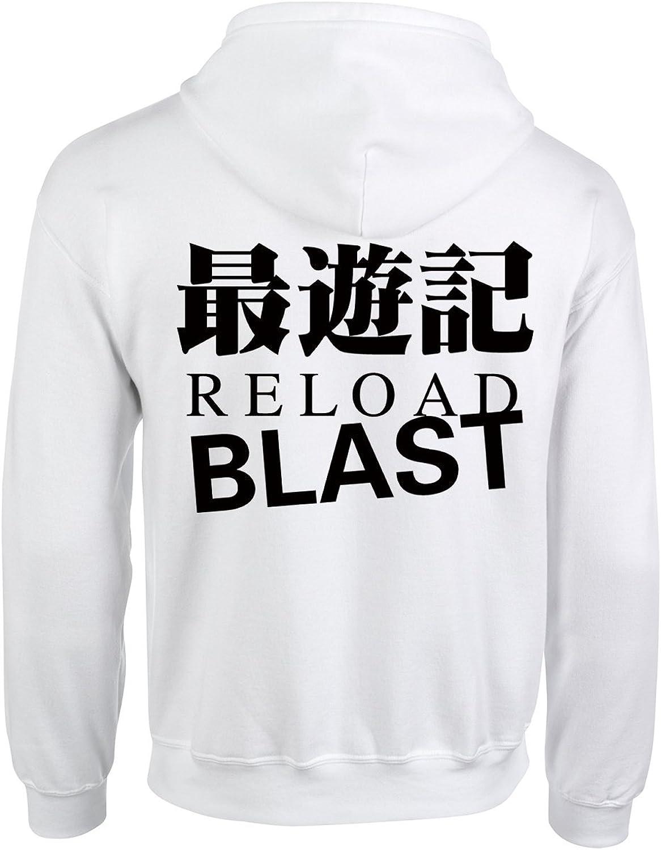 Happy Yohe Saiyuki Reload Blast Thin Hoodie Coat Animation