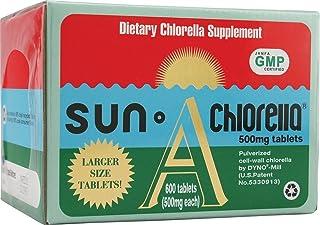 Sun Chlorella A Tablets - 500 mg - 600 Tablets