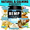 Hemp Calming Treats for Dogs - Made in Usa - 180 Soft Dog Calming Treats - Aids Stress, Anxiety, Storms, Barking, Separation and More - Valerian Root, L-Tryptophan, Chamomile - Hemp Oil for Dogs #5