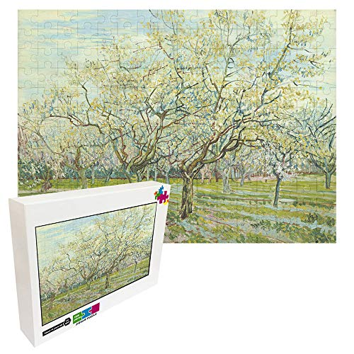 Rompecabezas profesional de madera de 1000 piezas para adultos de descompresión VINCENT VAN GOGH – Moerbeiboom Decoración familiar Entertainment Floor Puzzles regalo perfecto