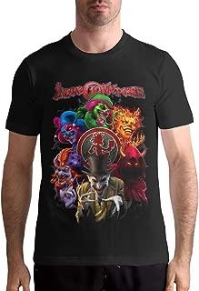 ICP Joker Card Carnival Short Sleeve Regular Tees White Men/'s T-shirt