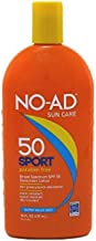 NO-AD Sport Sunscreen Lotion, SPF 50 16 oz