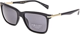 Bulgari 0Bv7028K 528581 57 Gafas de sol Negro (BlackPolargrey) Hombre