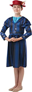 Rubie's Official Disney Mary Poppins Returns Movie Costume, Childs Book Week Character - Girls Size 9-10 Years