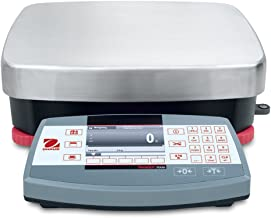 Ohaus R71MD15 Die Cast/Stainless Steel Ranger 7000 Compact Bench Scale, 15 kg Capacity, 0.0005 lb. Readability