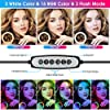"""Ring Light with Stand, 10"""" Selfie Ring Light with Tripod Stand Phone Holder, Circle Light for TIK Tok YouTube Stuff, Room Decor for Teen Girls #1"""