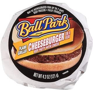 Ball Park Cheeseburger Sandwich, 4.3 Ounce -- 12 per case.