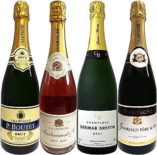 全てシャンパン4本セット スパークリングワイン