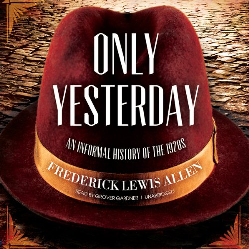 Only Yesterday audiobook cover art