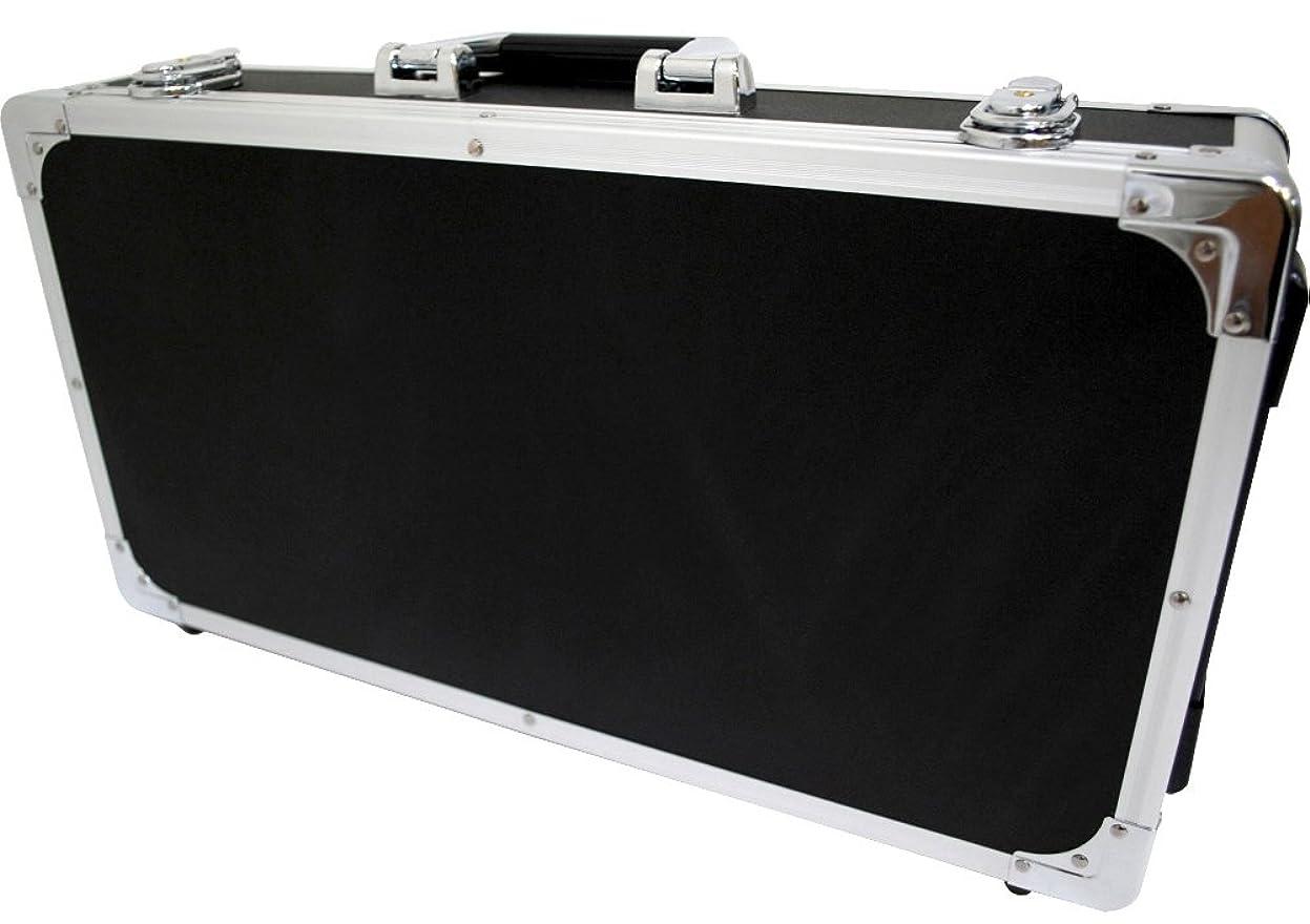 定義本能オンスKC エフェクターケース EC-80/BK ブラック (内寸 685 x 295 x 65+20mm)