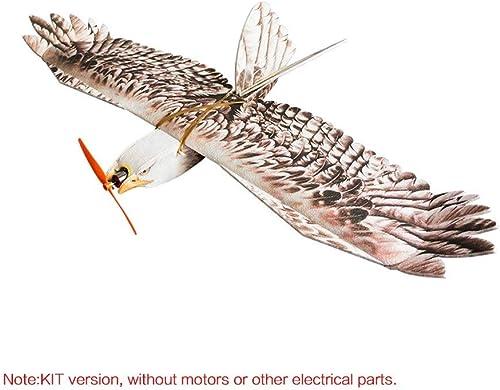 Garantía 100% de ajuste YuandCheng Aviones de Control Remoto DW Hobby Biomimetic Biomimetic Biomimetic Eagle EPP Mini Flyer Lento 1200 mm Envergadura RC Kit de avión  calidad oficial