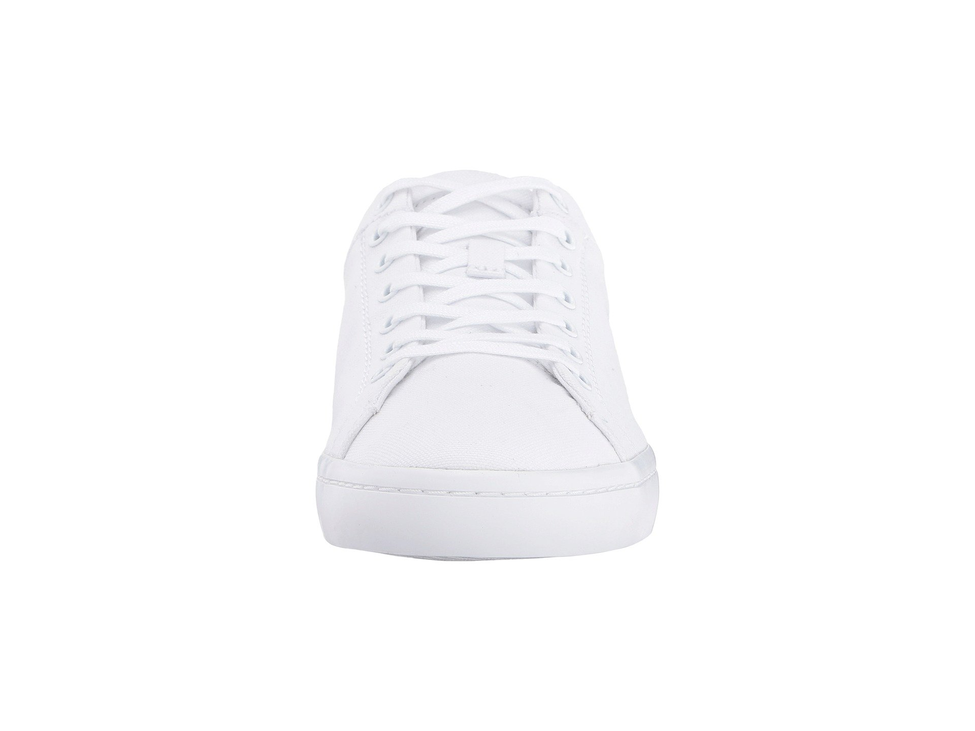 White Lacoste 2 Straightset Bl Canvas AwOIRprOqY