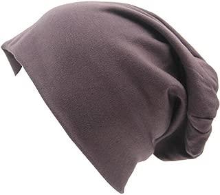 Unisex Baggy Lightweight Hip-Hop Soft Cotton Slouchy Stretch Beanie Hat