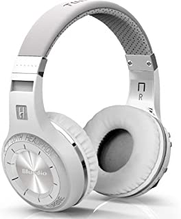 Bluedio HT Turbine Wireless Bluetooth 5.0 Stereo Headphones with Mic (White)