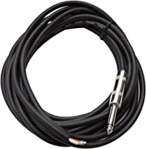 Seismic Audio QRW15 15-Feet Raw Wire to 1/4-Inch Speaker Cable, 16 Guage, PA/DJ/Home Audio