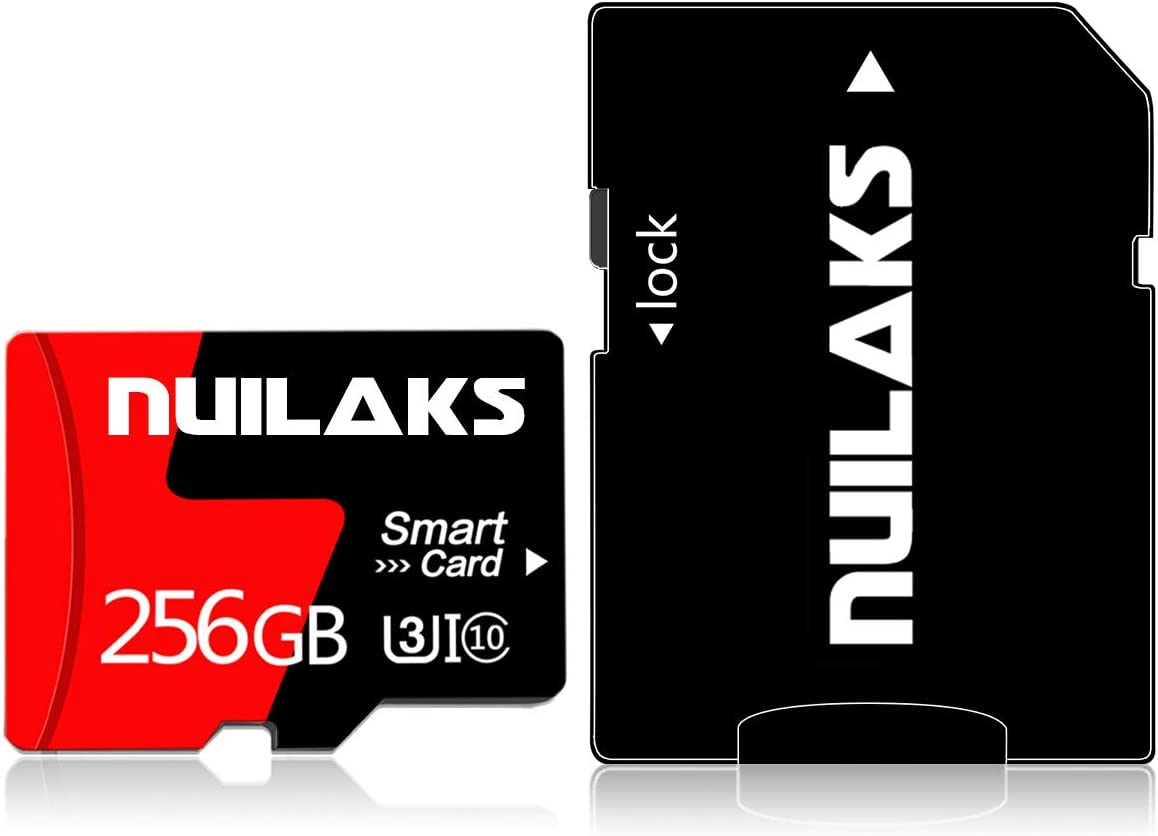 256GB Micro SD Card Memory Card Class 10 High Speed TF Flash Card for Smartphones/PC/Computer/Camera