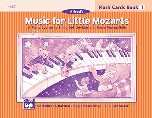 Music for Little Mozarts Flash Cards: A Piano Course to Bring Out the Music in Every Young Child (Level 1), Flash Cards