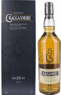 Cragganmore Single Malt 25 Years Old Limited Edition 2014 mit Geschenkverpackung Whisky 1 x 0.7 l