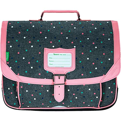 Cartable 38 Tann's Les Chinés Lou Gris / Rose