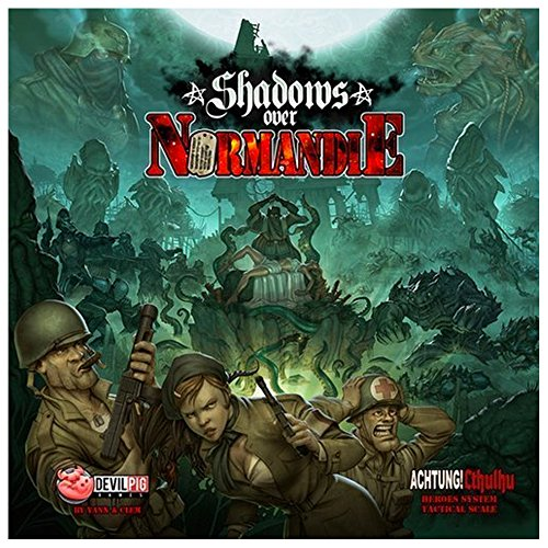 Shadows Over Normandie Board Game by Flat River Group