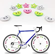 RABONO Bicycle Spokes Reflective Decorations Hot Wheels Warning Reflective Night Riding Equipment