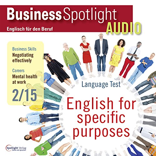 Business Spotlight Audio - Negotiating effectively. 2/2015 Titelbild