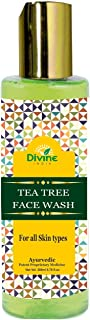 Divine India Tea Tree Face Wash, 200ml