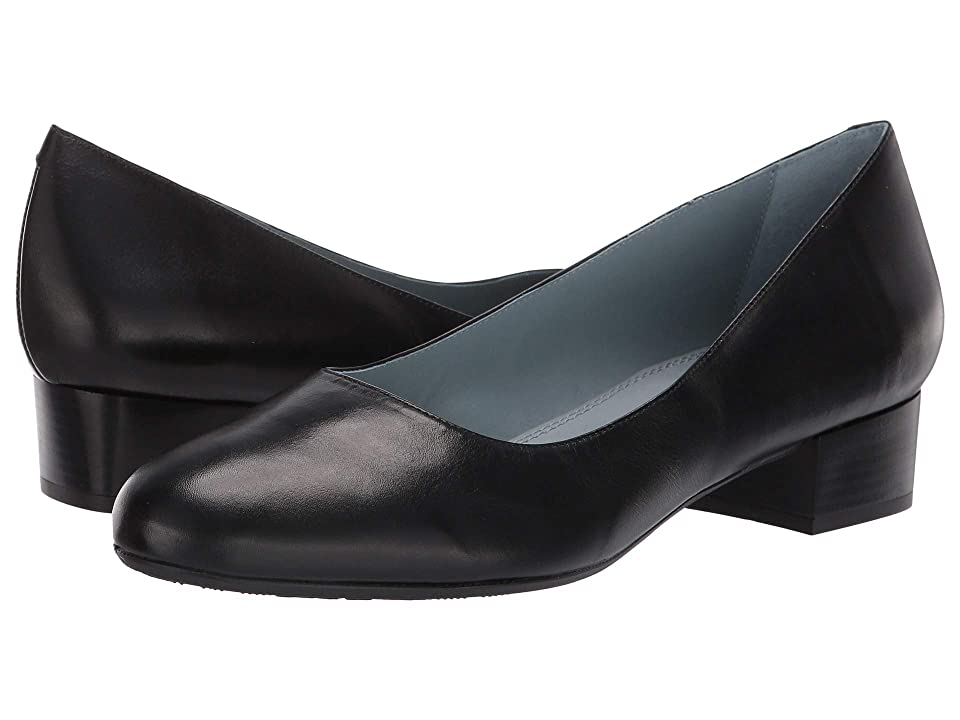 1950s Style Shoes | Heels, Flats, Saddle Shoes SKYPRO Gloria Heath II Black Womens  Shoes $140.00 AT vintagedancer.com