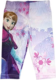 fad4804bc86b7 Disney Frozen Princess Elsa and Anna Ankle Length Leggings Tights Yoga Pants  for Girl Age Group
