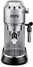 Delonghi Dedica DeLuxe EC685M Ultra Compact Manual Espresso Machine & Cappuccino Maker - Stainless Steel