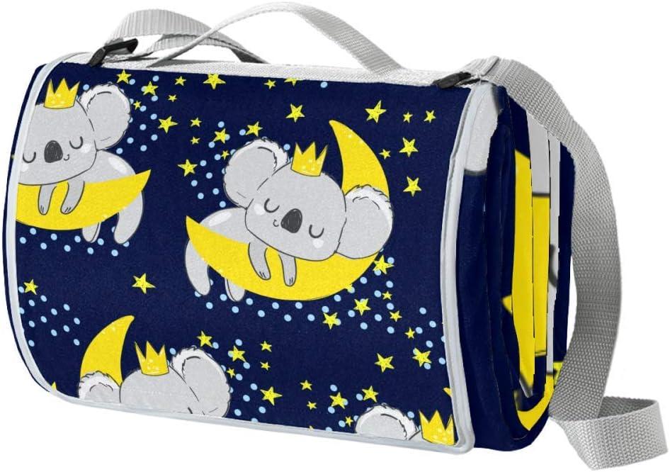 XJJUSC Beautiful Cute Koala Large Blanket trend rank Outlet ☆ Free Shipping Beach Blanke Picnic