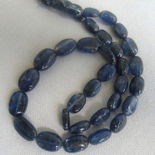 1 rang Natur Kyanit 9 12–6 8 , uni, oval Perlen 15,2