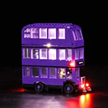 Vonado Led Lighting Kit for Lego 75957 Harry Potter Series The Knight Bus Compatity 4866 Building Bricks Light Set Creator City technic Blocks Toys Gift to Friends Children(Only Lights)