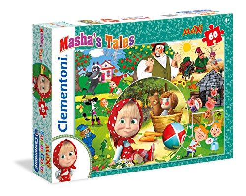 Masha's Tales Puzzle, 60 Piezas, Multicolor, pezzi (26422)