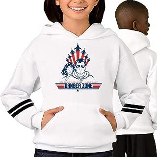 QIMING SHIPPING Ar-Cher - Danger Zone Kid's/Youth Hoodie, Hooded Sweatshirt for Boys/Girls