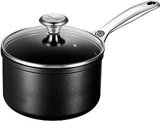 Le Creuset of America  Toughened NonStick Saucepan with Lid, 2 quart