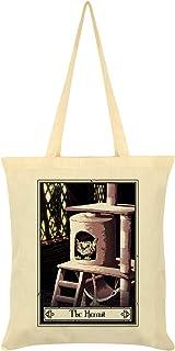 Deadly Tarot Felis - The Hermit Tote Bag Cream 38 x 42cm