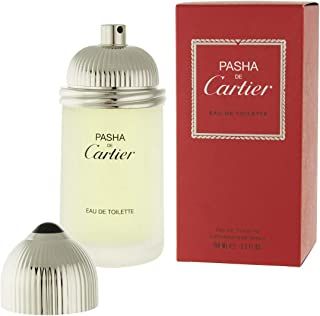Cartier Pasha De Cartier for Men, 3.3 oz EDT Spray