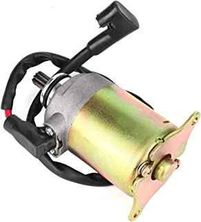 Suuonee Starter Motor,  Motorcycle Electric Starter Motor Assy GY6 125cc 150cc Scooter Engine Accessories