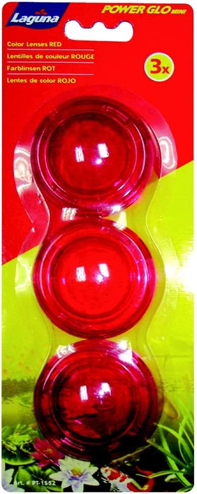 Laguna 2021 spring and summer new PowerGlo Mini Lens Set Max 75% OFF for Light LED Red Pond