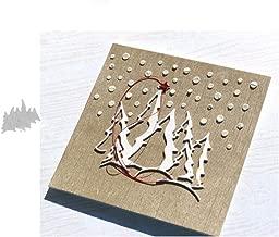 10x8.5cm M/étier en m/étal Magnifique ballon de papier d/écoup/é avec des matrices pour Scrapbooking//Cartes de mariage de No/ël de bricolage Halloween